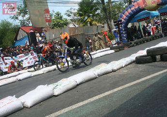 Dragbike Salatiga, Tim UJM Kuasai Bebek 4-tak Tune Up 150 cc