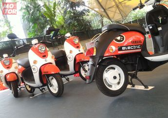 Cek Spesifikasi Motor Listrik Yamaha E-Vino, Segini Kecepatan Maksimumnya