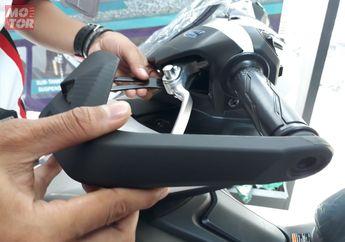 Pasang Sendiri Hand Guard di Yamaha Aerox 155 VVA, Saking Mudahnya Cewek Juga Bisa...