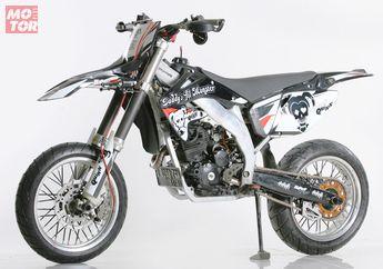 Jarang yang Sadar Kalau Supermoto Ini Sebenarnya Yamaha Scorpio