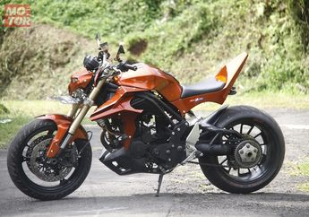Honda Tiger 2005 Street Fighter, Modifikasi Sangar Tapi Klimis Bingits