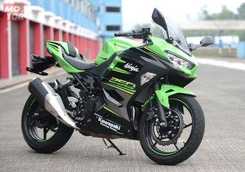 Power Kawasaki New Ninja 250R, Menang Tipis Dari Honda CBR250RR Saat di  Tes Dyno