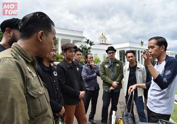 Ternyata Ini Alasan Presiden Jokowi Membeli Motor Kustom