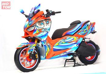 Yamaha XMAX Lebih Keren Pakai Upside Down Moge, Tapi Harganya Bikin Jerit!