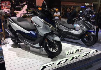 Nongol Juga.. Honda All New Forza , Calon Musuh Besar Yamaha XMAX di Indonesia