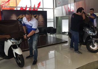 Yamaha Launching Yamaha Lexi Bareng Acara Maxi Tour de Indonesia di Medan