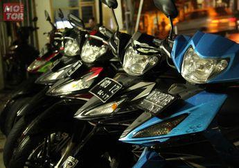 Tragis! Motor Kawasaki Edge Gagal Dibawa Maling, Dilempar Begitu Saja Ke Sawah