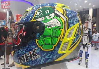 Helm NHK Luncurkan Helm Replika Pembalap MotoGP, Enggak Mahal Kok Cuma Satu Komaan..