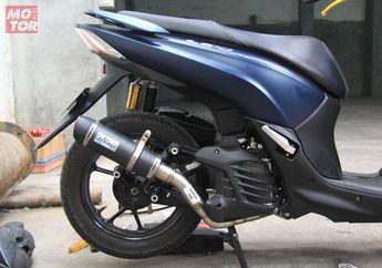Ragam Knalpot Keren Yamaha Lexi 125, Yuk Simak Banderolnya Biar Enggak Penasaran...