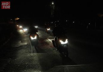 Menembus Gelapnya Jalur Alas Roban, Rider MAXI YAMAHA Tour de Indonesia Cerita Begini