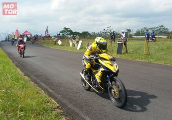 Hasil Kualifikasi MotorPrix Tasikmalaya, Pasukan Yamaha Kuasai Kelas Bergengsi