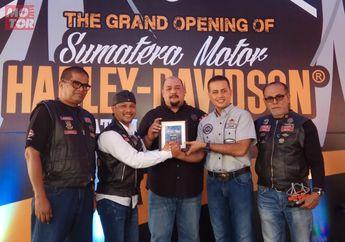 Resmikan Dealer Harley di Batam, Wagub Sumatera Utara Musa Rajekshah Siap Fasilitasi Bikers Turing ke Mancanegara