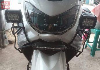 Cuma Modal Rp 200 Ribuan, Bodi Yamaha NMAX Bisa Terlindungi Dari Benturan