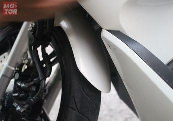 Modal Rp 69 Ribu, Noda Aspal Yang Menempel di Bodi Motor Hilang Seketika