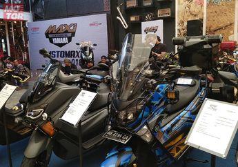 Keren! Berbagai Aliran Modifikasi Ramaikan Customaxi Yamaha di Yogyakarta