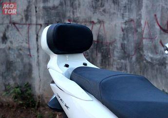 Pasang Komponen Ini, Boncenger All New Honda PCX 150 Jadi Tambah Nyaman