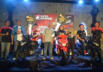 3 Motor Baru Disebar di Seri Pamungkas Event  Super Adventure Night Road Race Indramayu