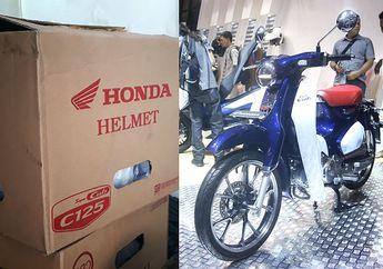 Ini Helm Bawaan Honda Super Cub C125, Bebek Seharga 55 Juta!