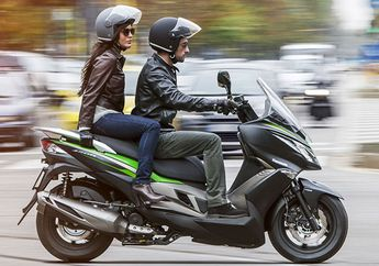 Pesaing Baru Yamaha NMAX dan Honda PCX, Ini Dia Kawasaki J125 2019