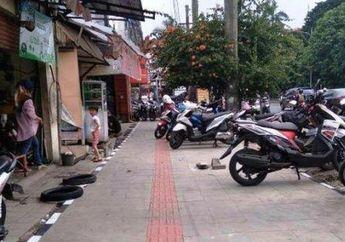 Salah Siapa? Duit Rp 2,7 Miliar Buat Trotoar di Jalan Sudirman, Sekarang Malah Jadi Lahan Parkir