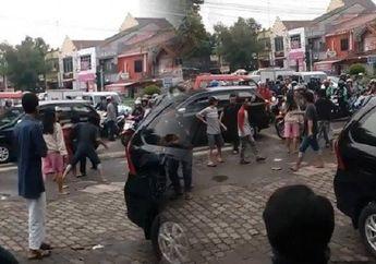 Ngeri, Buntut Pengeroyokan Anggota TNI oleh Tukang Parkir Berujung Pembakaran Polsek Ciracas