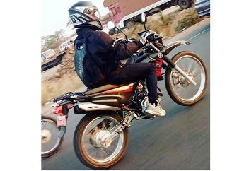 Bikin Geger, Motor Trail Yamaha Terciduk di Jalan Raya, Calon Pesaing KLX150 dan CRF150L?