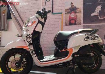 Wow, Pakai Pelek 12 Inci Honda Scoopy Malah Kuasai Kaltim Dan Kaltara
