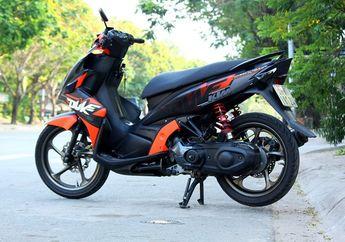 Nyentrik! Matik Yamaha Ini Pakai Livery KTM Duke, Motor Apa Hayo?