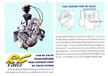 Mengenal Cara Kerja RC Valve, Teknologi Yang Bikin Honda NSR Ngacir!