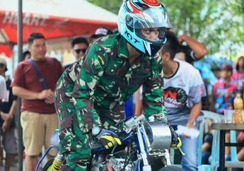 Ayo Siapa yang Salah Tentara Pakai Baju Seragam Bisa Balap di Lampung?