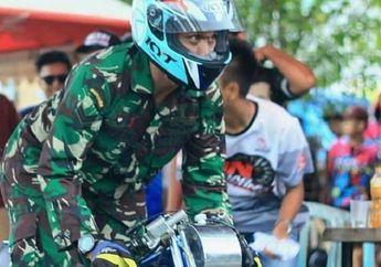 Viral, Anggota TNI Ikut Balap Drag Bike di Lampung, Bagaimana Aturannya?