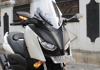 Ini Baru Sultan, Yamaha XMAX Pasang Spion Mewah Ninja ZX-10R
