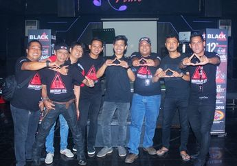 Seru Banget, Perayaan Anniversary ke-12 BMC Jaksel, Solid Tanpa Batas
