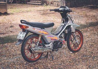 Cakep! Sedikit Modifikasi, Tampilan Honda Supra X Jadul Jadi Muda Lagi