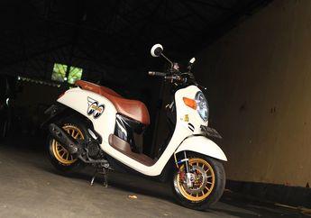 Dimodifikasi Bergaya Thailook, Honda Scoopy Ini Ogah Pakai Ban Cacing