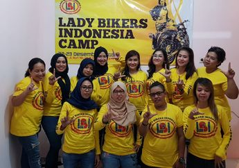Yuks Gabung di Lady Bikers Indonesia (LBI), Wadah Bagi Bikers Wanita Tanah Air