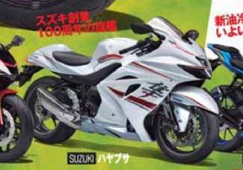 Resmi Stop Produksi, Foto Suzuki Hayabusa Terbaru Sudah Nongol Lagi