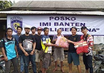 Enggak Cuma Ngurus Balap, IMI Banten Serahkan Bantuan Korban Tsunami Anyer