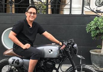 Pamer Motor Custom, Sandal Andre Taulany Bikin Orang Gagal Fokus