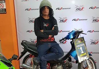 Edan, Kodrat Suzuki Smash Motor Artis Maell Lee Dijual Rp 1 Miliar!