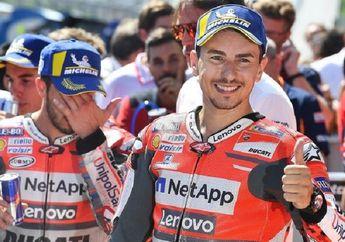 Jorge Lorenzo Pindah Tim dari Honda ke Ducati Juga Lewat Telepon
