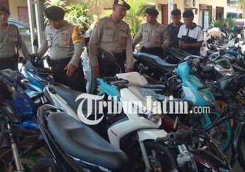 Polisi Razia Knalpot Racing Sampai Datangi Bengkel dan Toko Komponen
