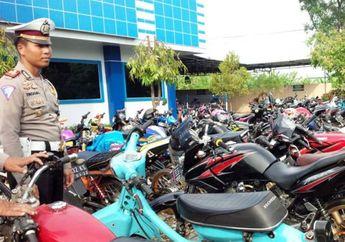 Pakai Knalpot Racing dan Ban Cacing, 100 Motor Modifikasi Diciduk Polisi
