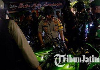 Polisi Lumajang Adakan Patroli, 47 Motor Kena Angkut Gara-Gara Knalpot