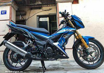 Sangar! Honda Sonic 150R Ini Pakai Kaki-kaki Mewah, Rem Cakramnya Aja dari Carbon