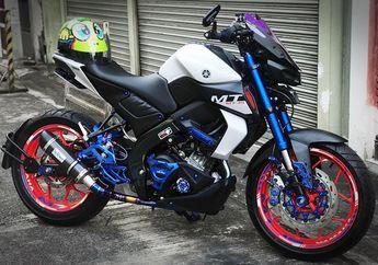 Sebelum Launching, Yuk Melihat Modifikasi Motor Yamaha MT-15 2019