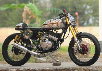 Usung Pelat Berkarat, Motor Legendaris Yamaha RX-Z Bernilai Seni Tinggi
