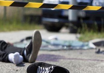 Tragis! Pemotor Wanita Jatuh dan Tewas Seketika Setelah Terlindas Truk Trailer