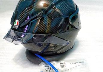 Biar Kayak Pembalap MotoGP, Pasang Slang Air Minum di Helm Modal Rp 150 Ribuan