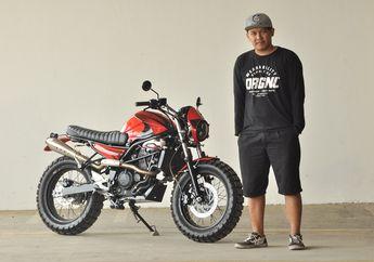 Gara-gara Masalah Tulang, Kawasaki Ninja RR Mono Dimodifikasi Jadi Scrambler